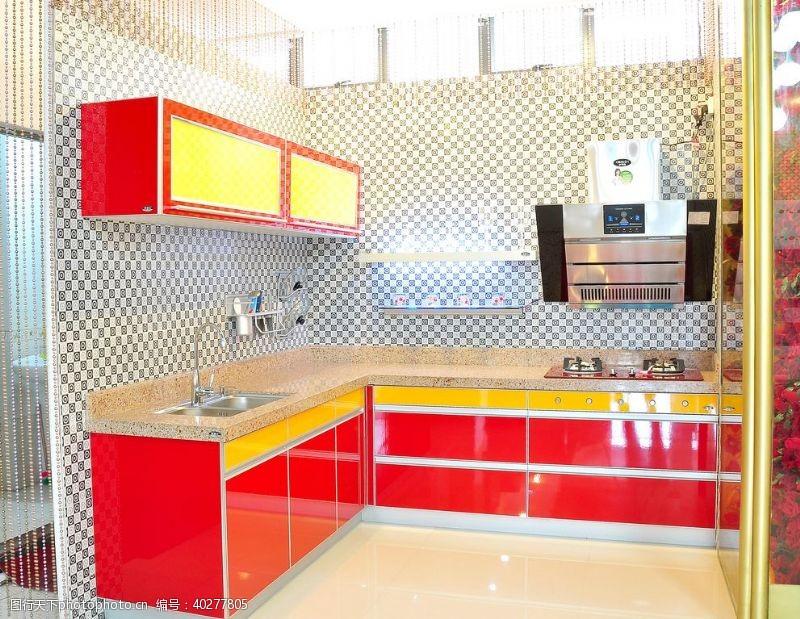 家居生活厨房装潢设计图片