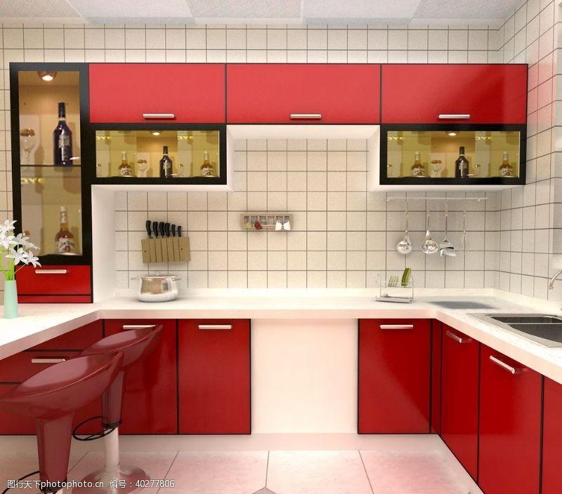 家居生活厨房装潢图片