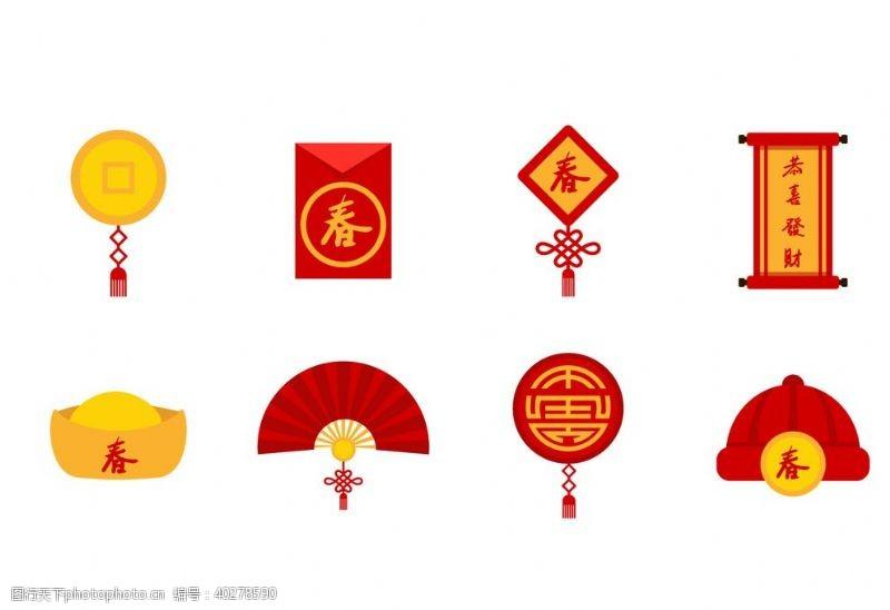 中国结春节素材图片