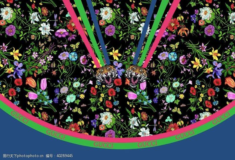 牡丹大牌定位花图片