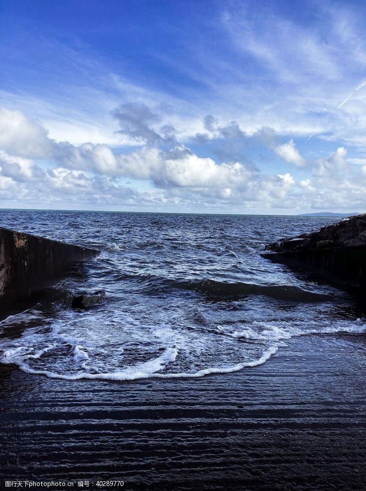 海水海边图片