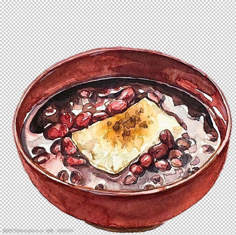 手红豆汤图片