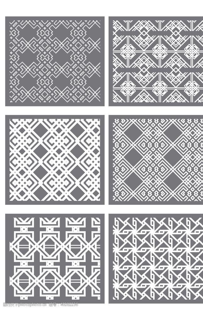 灰色系布料花纹图片