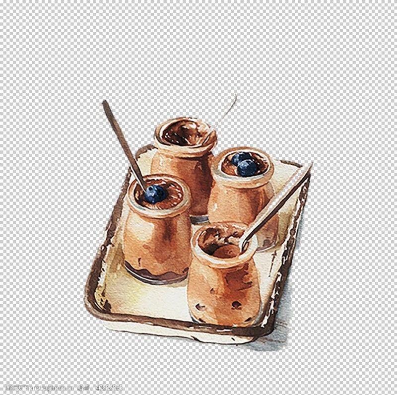 焦糖布丁图片
