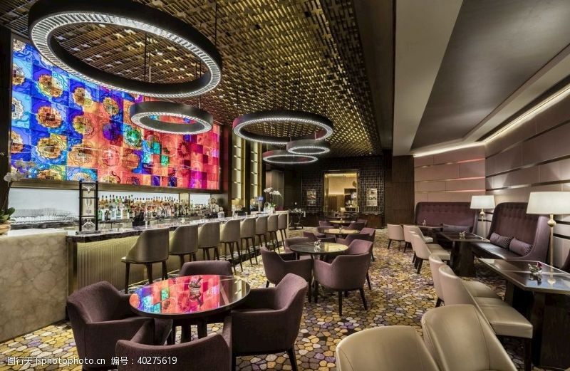 外国酒吧餐厅饮料清吧咖啡图图片