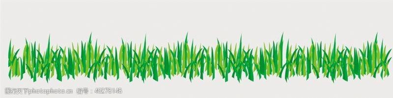 地毯卡通绿草图片