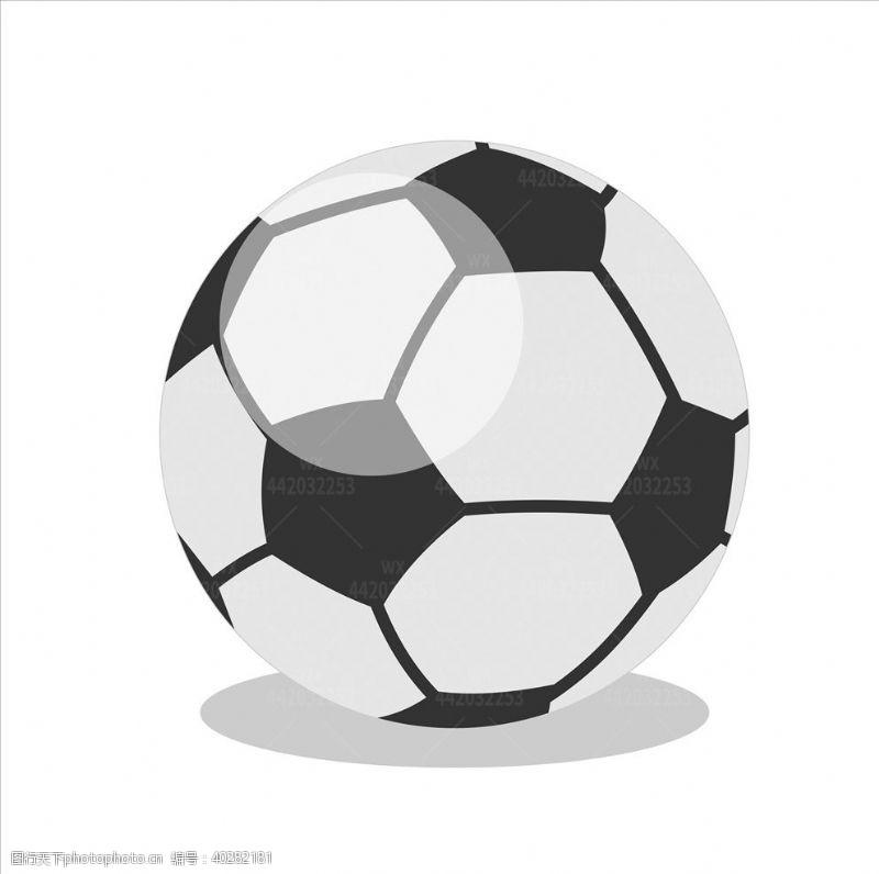 踢球卡通足球球类图片