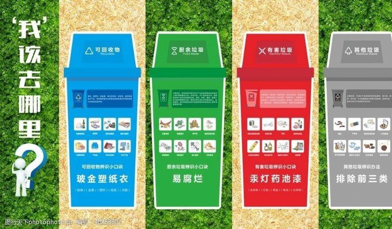 环保垃圾分类宣教室图片