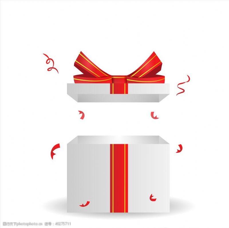 节日背景礼盒图片