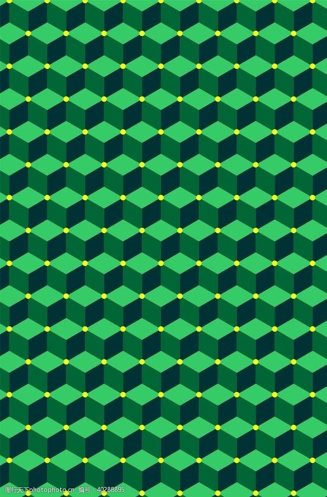 海报背景绿色格子图片