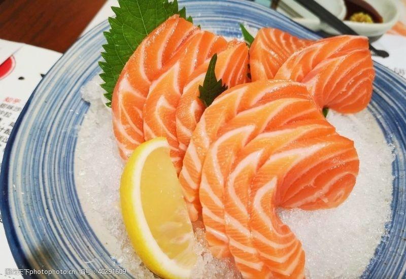 三文鱼三纹鱼图片