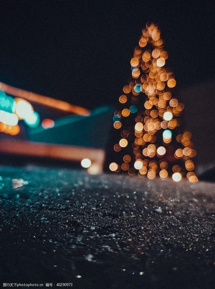 圣诞节圣诞树图片