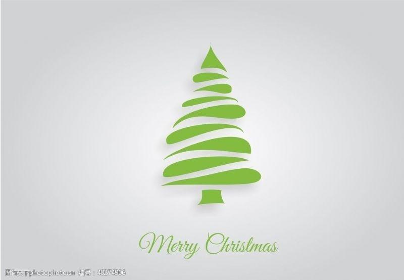 圣诞装饰圣诞树节日图片