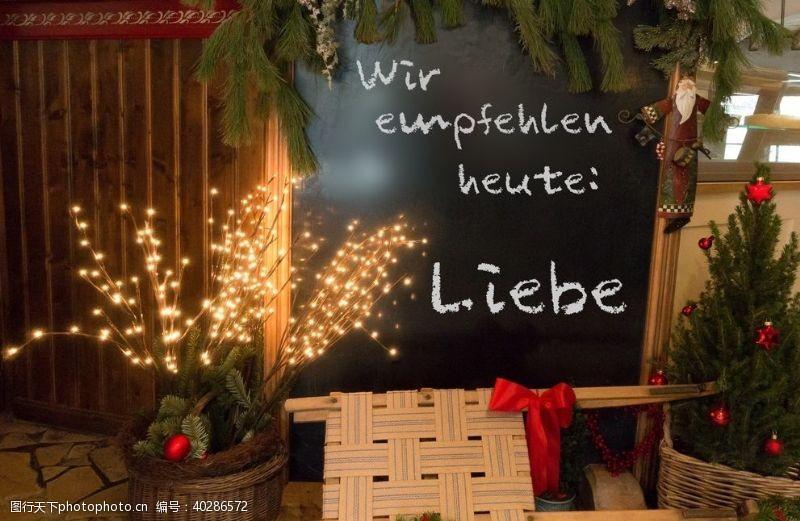 节日促销圣诞装饰图片