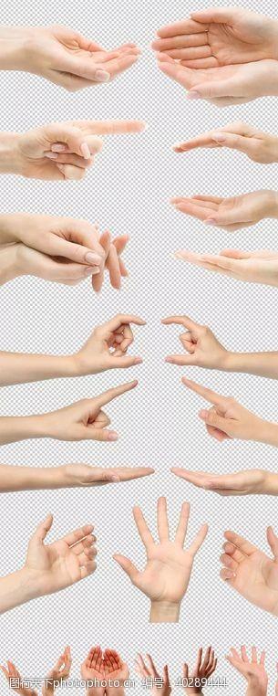 手势图片广告
