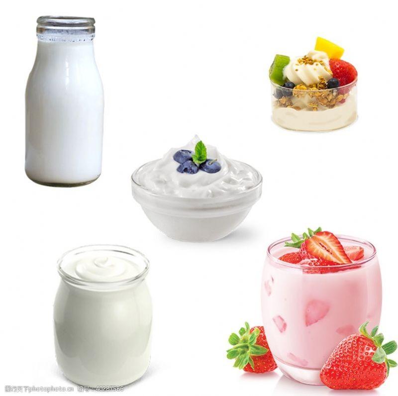 牛奶设计酸奶图片