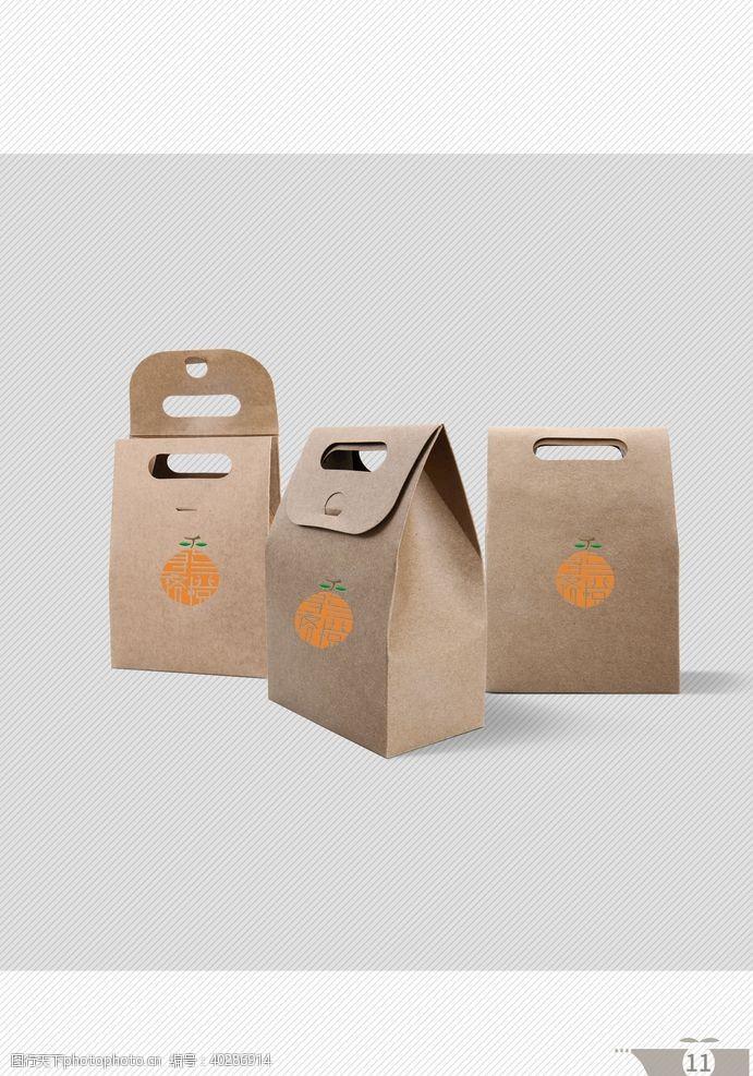 纸袋VI设计图片