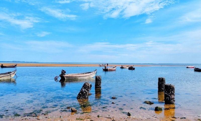 船威海大海图片