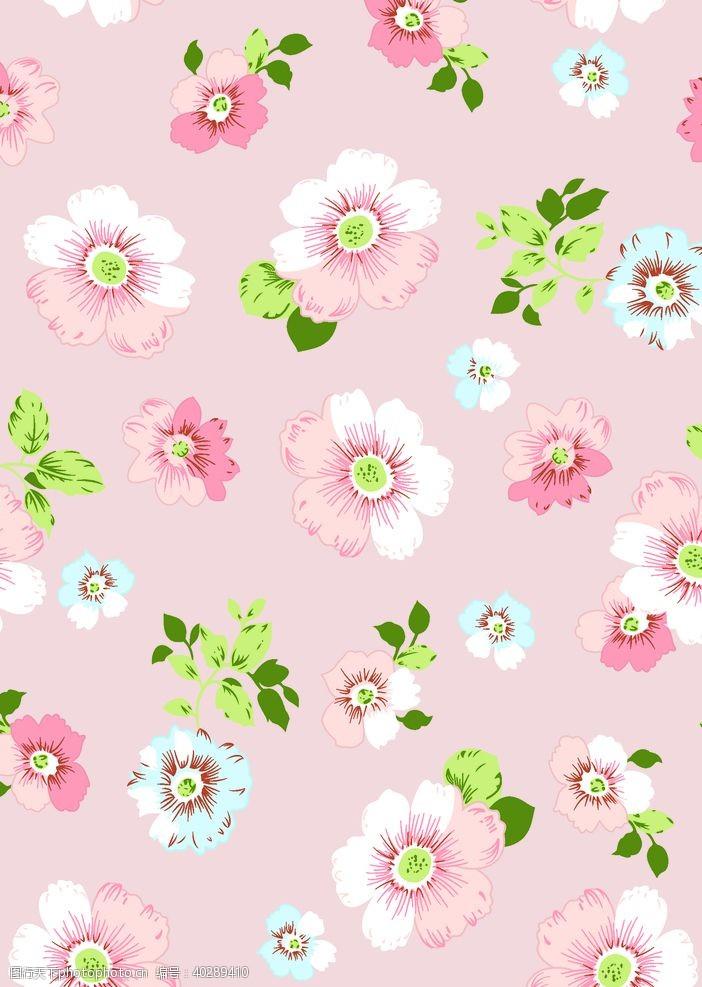 花瓣小粉花图片