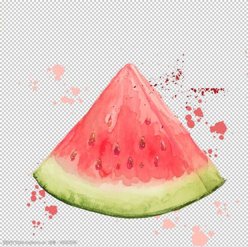 手西瓜图片