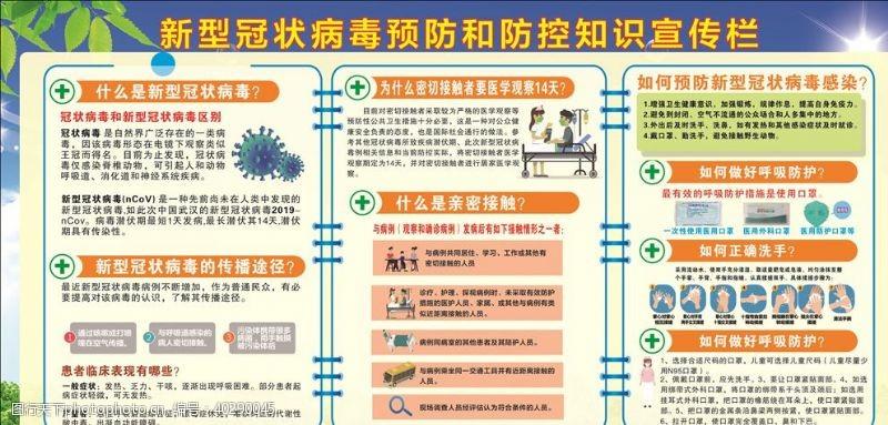 预防疫情防控宣传知识图片