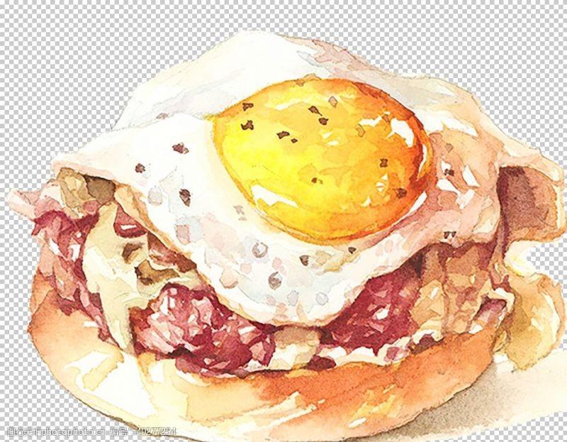 手早餐图片