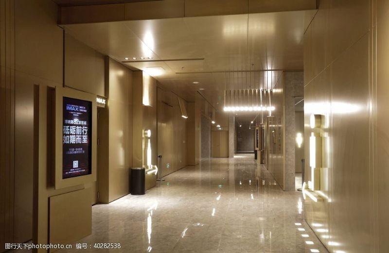 影视博纳影城江北天街店走廊照片实拍图片