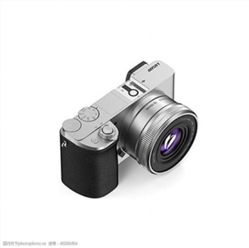 电影C4D模型数码单反相机图片
