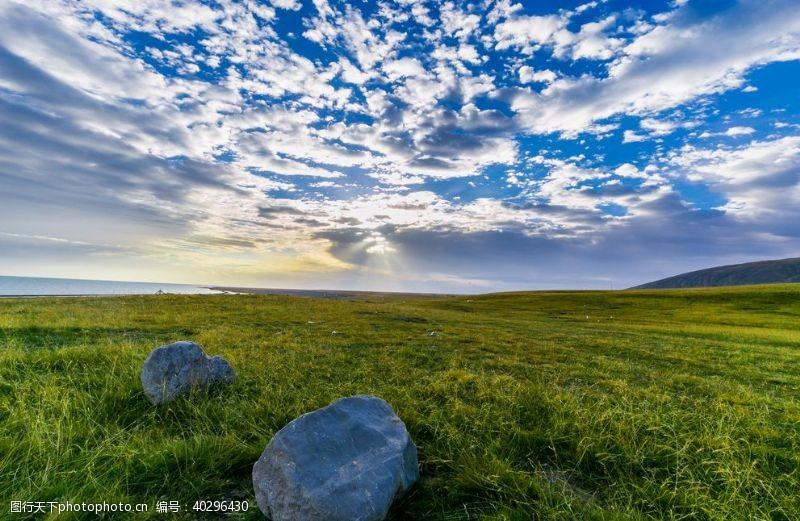天空草原风景图片