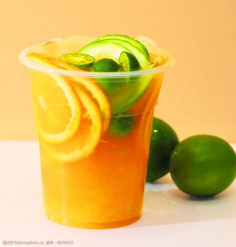 果汁橙香茉莉图片