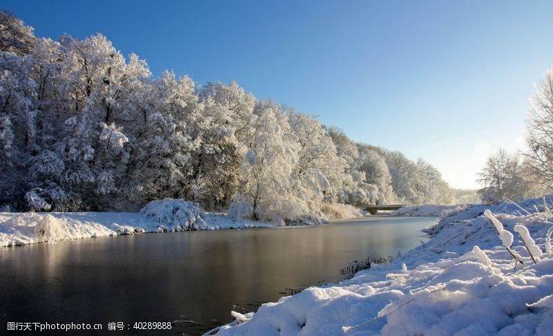 大雪风景图片