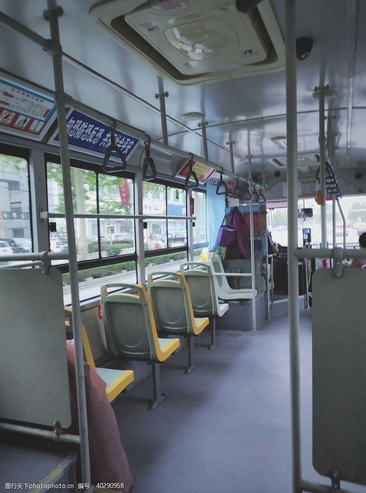 座椅公交车图片