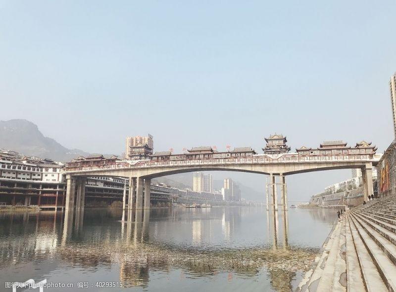 国内旅游贵州第一河沿河县图片