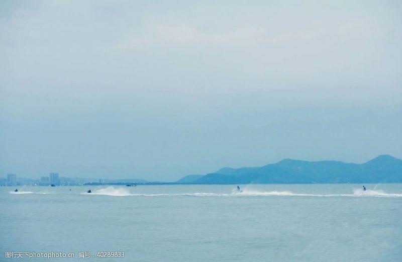 远山海天景象图片