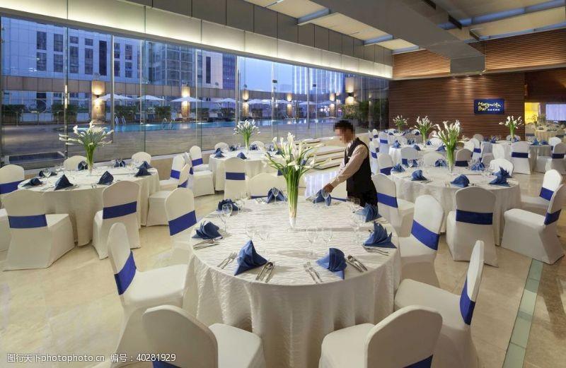 室内摄影豪华别墅酒店室内宴客厅图片