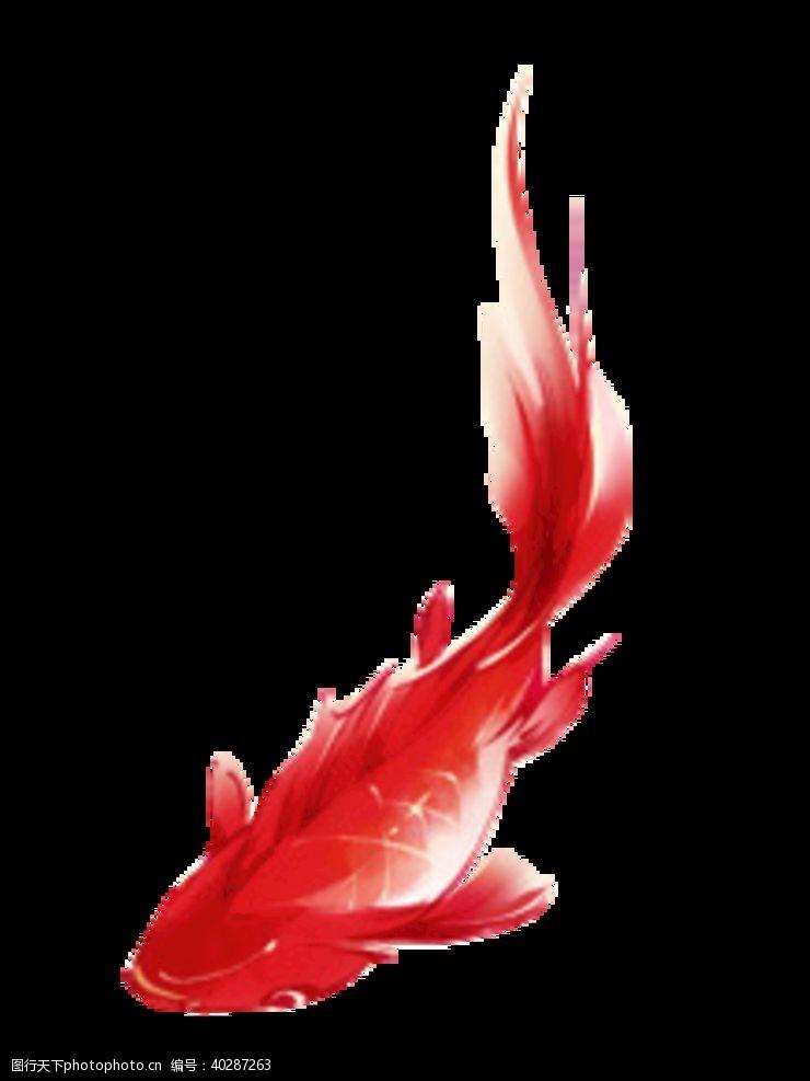 莲花锦鱼图片