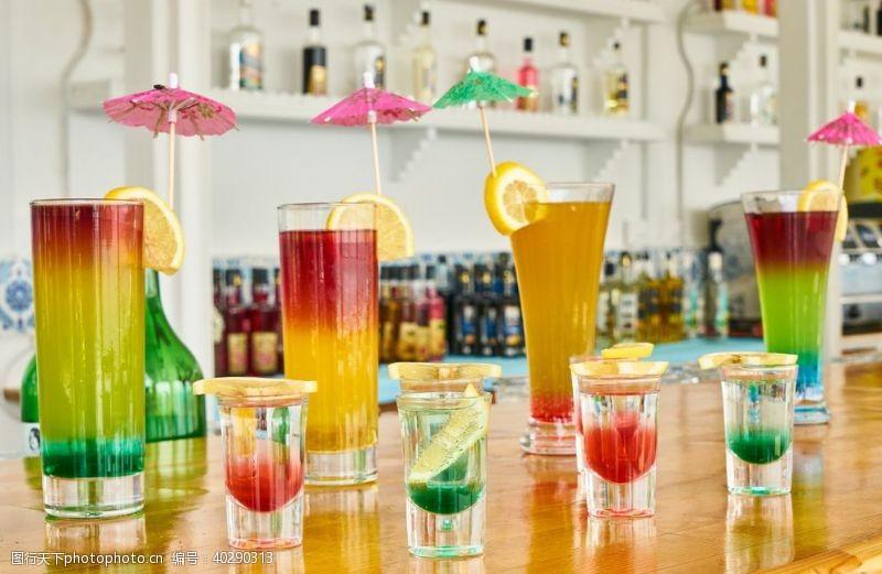 果汁鸡尾酒图片
