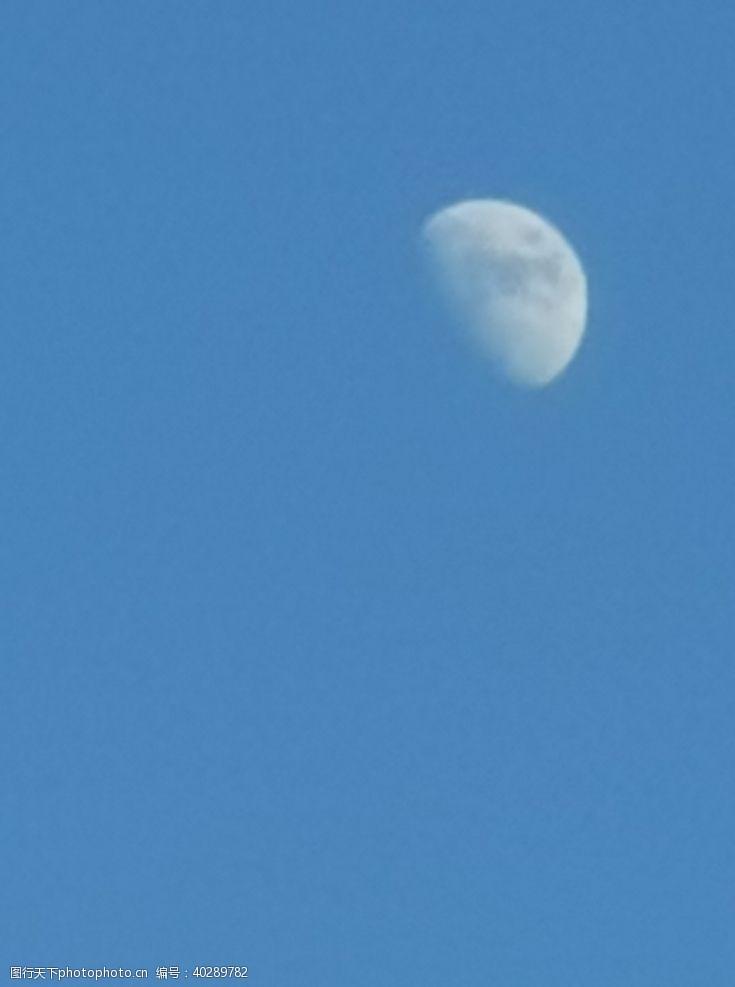 个性蓝色的月光图片