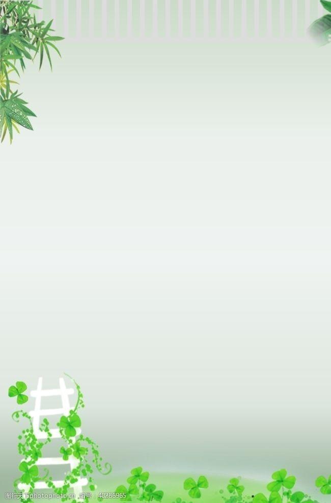 绿色背景绿色底图展板图片