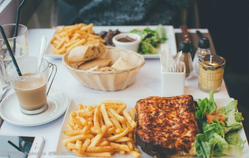 面包美食图片