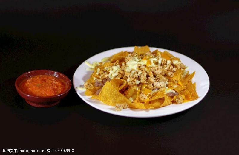 小玉米墨西哥玉米片图片