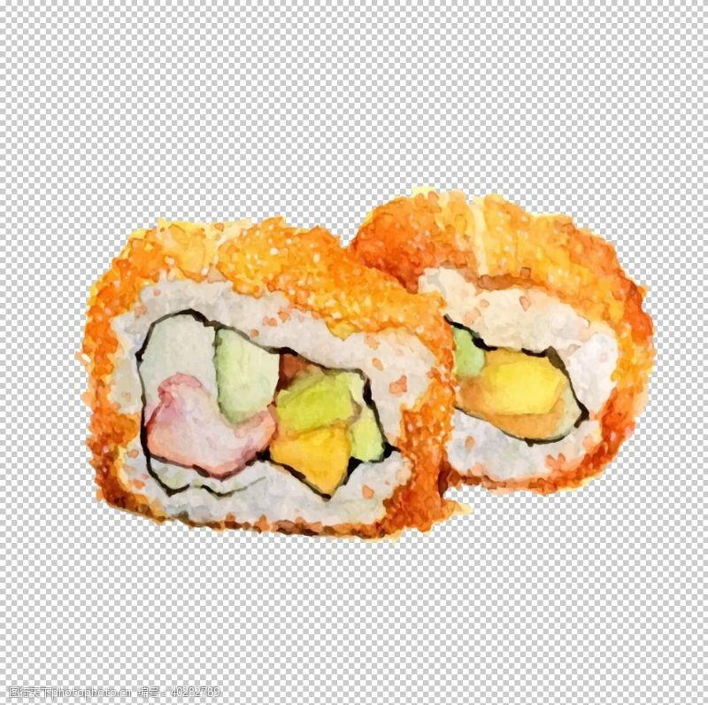 手寿司图片