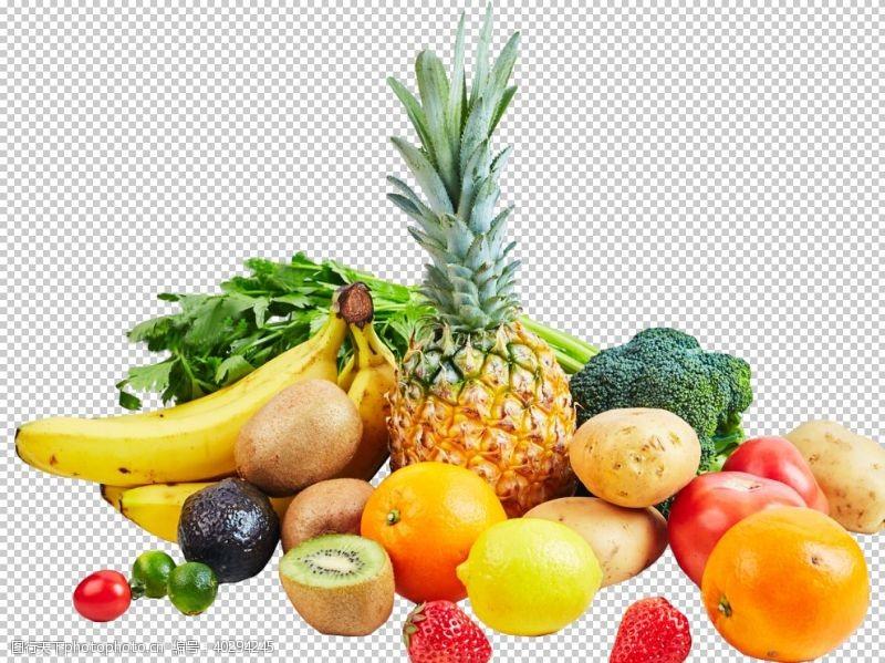 菠萝水果图片