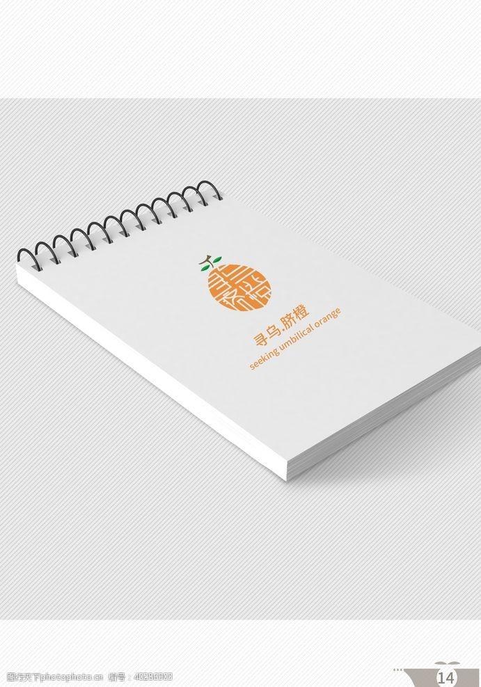 脐橙VI手册图片
