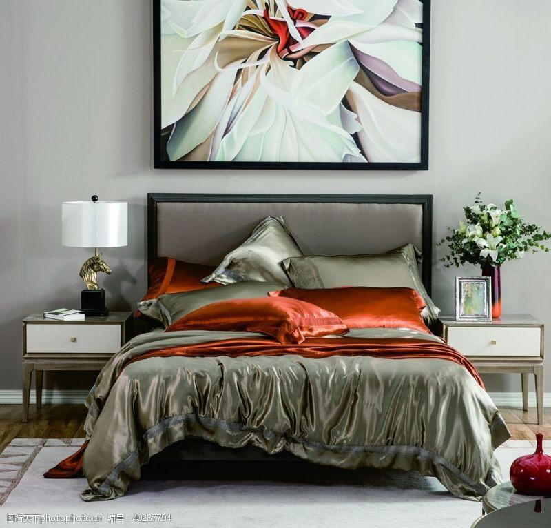 家居生活卧室图片