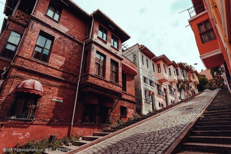 房屋巷道图片