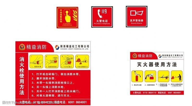手消火栓使用方法图片