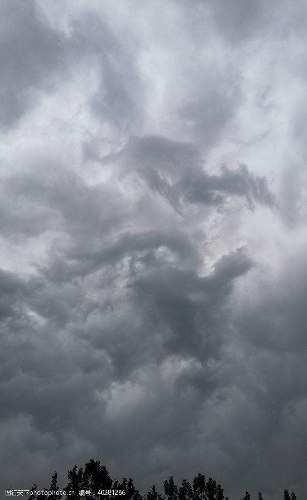 云彩阴天图片