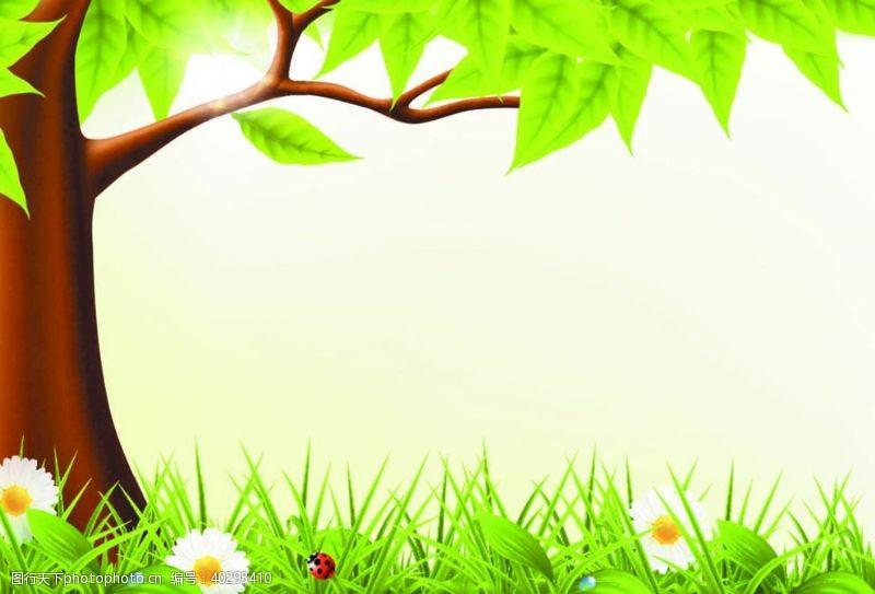 春天的草地图片