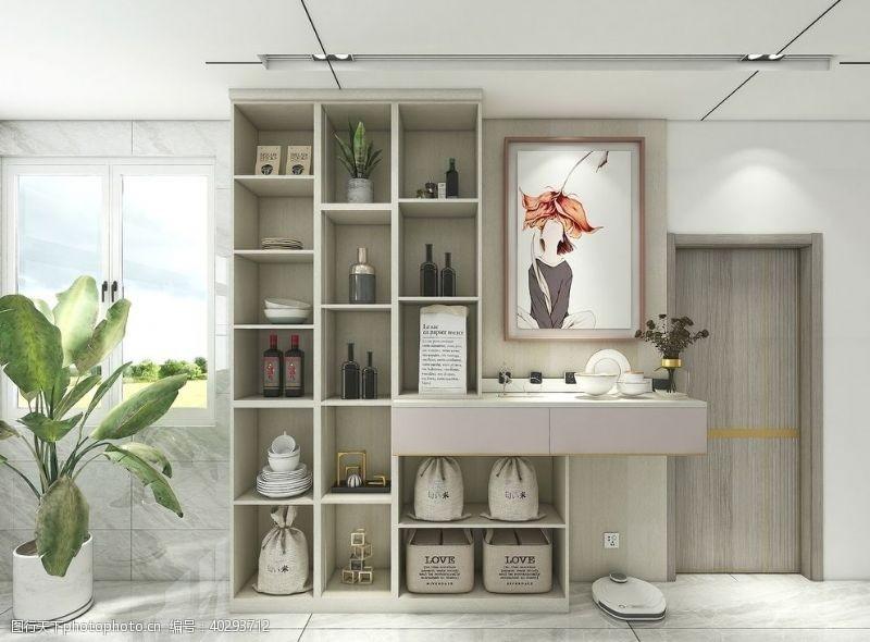3d设计储物柜图片